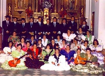Coro de la Hermandad del Inmaculado Corazón de María. Primeros años.