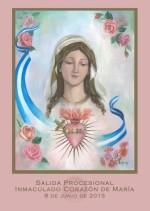 Cartel Salida Procesional Inmaculado Corazón de María 2013