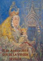 Cartel Dia de la Virgen 2013 - Virgen de los Reyes