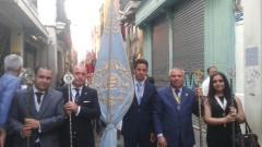 Representacion en Cospus Christi de Sevilla 2014