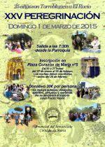Cartel XXV Peregrinación al Rocío. HICM - Torreblanca