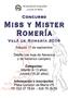 Concurso Miss y Mister Romería